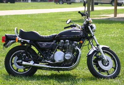 Kawasaki KZ1000B2 LTD 1978 in Factory Ebony Black