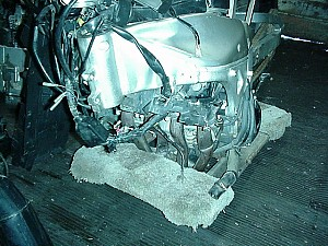 My Yamaha YZF-R1 2001 Destroyed Donar Front